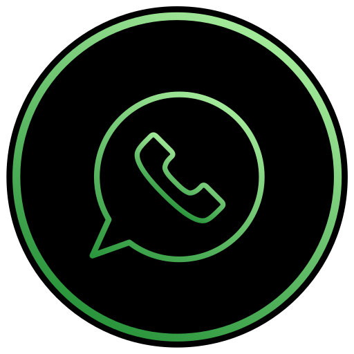 app, chat, message, mobile, phone, text, whatsapp icon