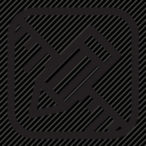 control, design, designer, drawing, editor, pencil, ruller icon
