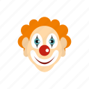 carnival, circus, clown, fool, humor, jester, joker icon