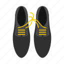 fashion, footwear, fun, funny, laces, shoes, tied icon
