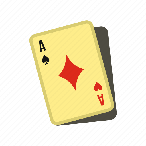 ace, card, casino, game, playing, poker, suit icon