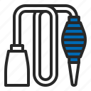 aquarium, aquascaping, equipments, pump, siphon, tool icon