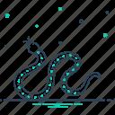hydra, ophidian, rattlesnake, reptile, serpent, snake, viper