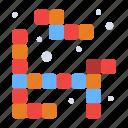 game, play, tetris icon