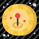 coin, game, joystick