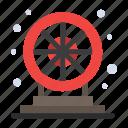 fun, game, play, wheel icon