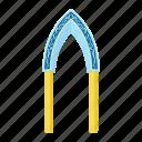 arch, blue, eastern, islamic, monolith, muslim, oriental icon