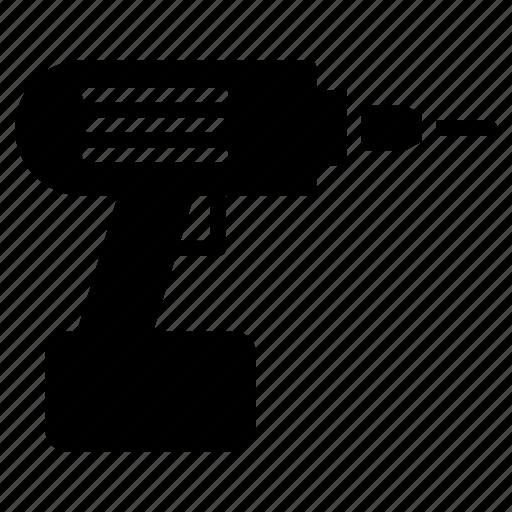 drill, equivepment, machine, tool icon