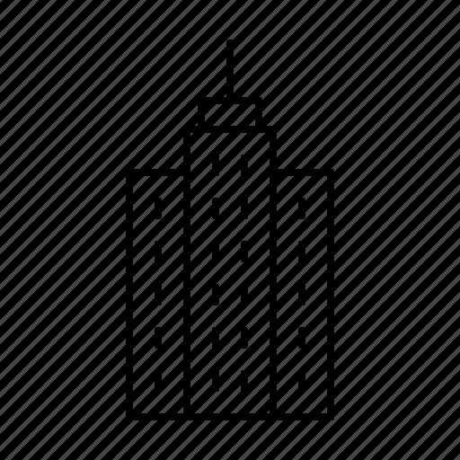 architect, architecture, building, business, draft, draw, skyscraper icon