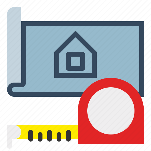 Measurement, measuring, ruler, tape, tool icon - Download on Iconfinder