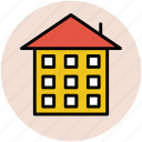 building, home, house, mansion, residence, villa icon