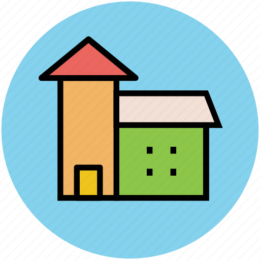 apartment, family home, home, house, mansion, residence icon