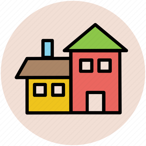 building, country house, farmhouse, traditional house, village house icon