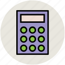 adding machine, calculation, calculator, finance, maths icon