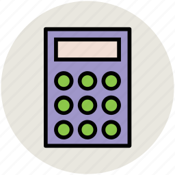 adding machine, calculation, calculator, finance, maths icon