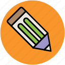 drafting tool, drawing tool, edit, office supply, pencil, school supply, sketch, write, writing tool icon