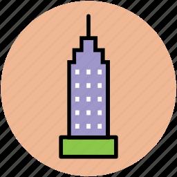 building, empire state building, manhattan, manhattan skyline, new york icon