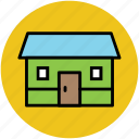apartment, family house, home, house, residence, villa icon