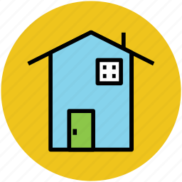 apartment, family home, home, house, residence icon