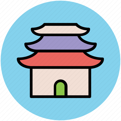 church, house of worship, shrine, synagogue, temple icon