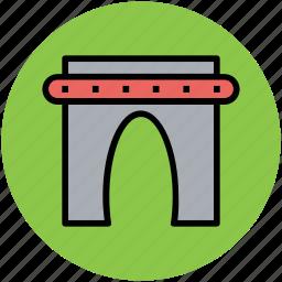 archway, doorway, entrance, entry, gateway, portal icon