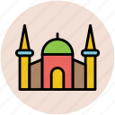 building, islamic building, mosque, religious place icon