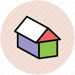 agricultural building, barn, building, country house, farm house icon