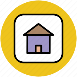 home, house, hut, infographic element, villa, webelement icon