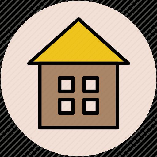 cabin, cottage, home, house, hut, shack, villa icon