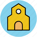 barn, building, farm house, silo, storehouse, warehouse icon