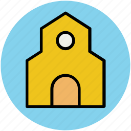 barn, building, farm house, silo, storehouse, warehouse icon