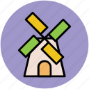 aerogenerator, mill, tower, windmill, windmill tower icon