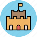 architecture, building, historical building, monument icon