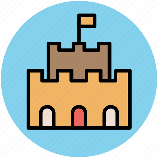 architecture, building, historical building, monument icon