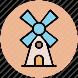 aerogenerator, mill, tower, windmill, windmill tower icon