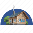 building, cottage, culture, home, house icon