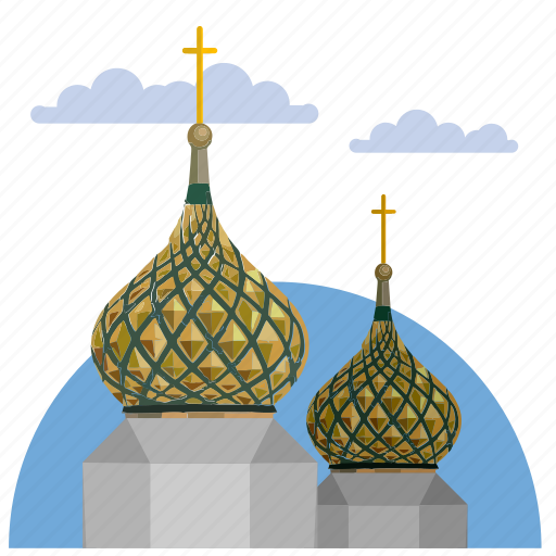 architecture, cathedral, culture, kremlin icon