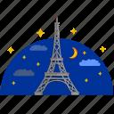 building, culture, eiffel, france, paris, tower