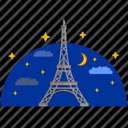 building, culture, eiffel, france, paris, tower icon