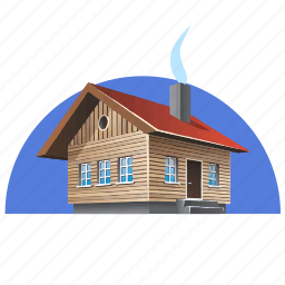 architecture, cottage, home, house icon