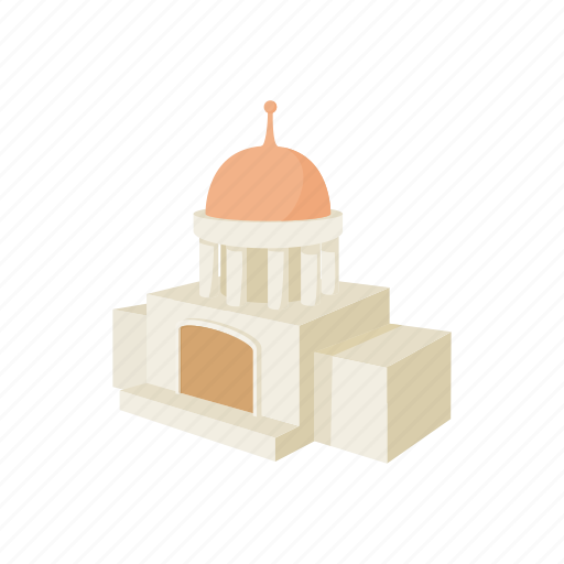 architecture, building, cartoon, christianity, church, dome, religion icon