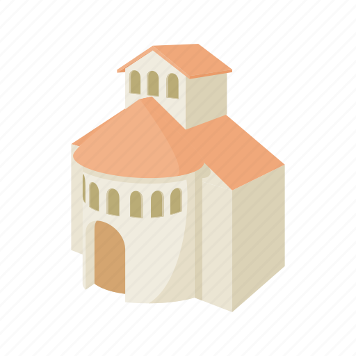 architecture, building, cartoon, christian, christianity, church, religion icon