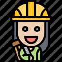 architect, engineer, constructor, builder, worker