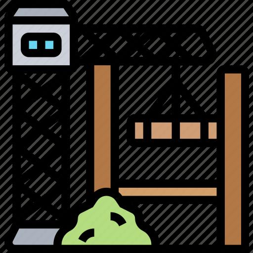 Construction, site, civil, industrial, development icon - Download on Iconfinder
