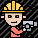 engineer, civil, survey, construction, worker