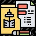 project, document, development, plan, estate