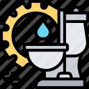 sanitary, system, toilet, furniture, room