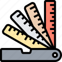 scales, rulers, measurement, accuracy, tool