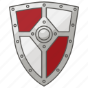 defence, defense, heater, kite, medieval, renaissance, shield icon