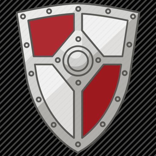 defence, defense, heater, kite, medieval, renaissance, shield icon